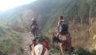 trekking mountains